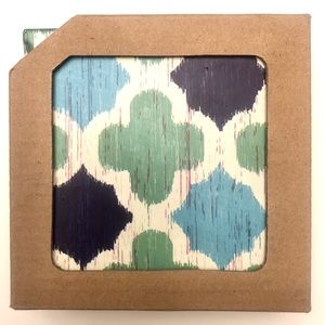 NWT • 4 Pack of Coasters